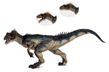Allosaurus, model with moving jaws