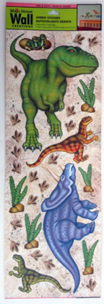 Junbo Dinosaur Wall Stickers, peel & stick, removable NOW 25% OFF