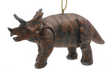 Triceratops Christmas & Holiday Ornament