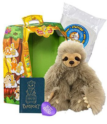 Build Your Teddy Sloth Plush