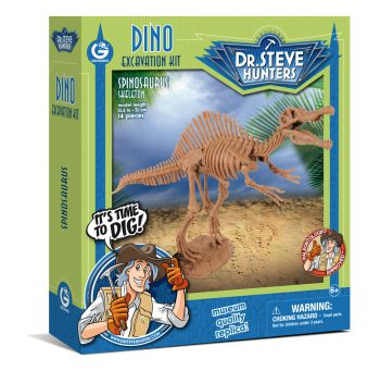 Spinosaurus,14 Piece Dino Excavation Kit