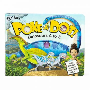 Poke-a-Dot Book – Dinosaurs A to Z