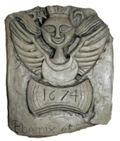 Classic Antiquities Last  Witch in Scotland Tombstone