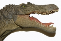 Spinosaurus, model with moving jaws