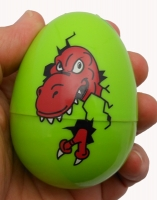Easter Egg with Dinosaur Inside