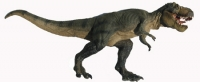 Tyrannosaurus rex, running pose model with moving jaws