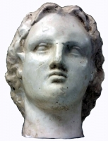 Classic Antiquities Bust of Alexander The  Great