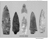 Projectile Points Poster by Robert L. Pyle West Virginia
