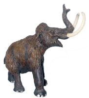 Woolly Mammoth, model Mammuthus primigenius