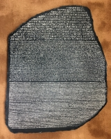 Rosetta Stone Plaque Replica