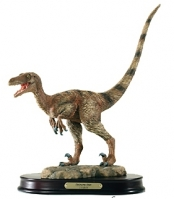 Deinonychus life-like model