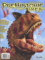 Prehistoric Times Magazine Subscription 4 Big Issues