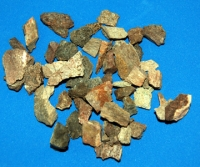 Cretaceous Dinosaur Bone Fragments, Authentic 1/4 pound, 4 oz.